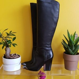 SAM EDELMAN leather boots, new